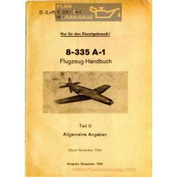 Flugzeug Handbuch Do 335 A 1