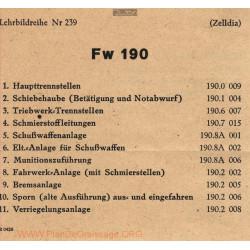 Flugzeug Handbuch Fw 190 Zelldia