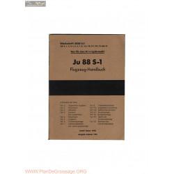 Flugzeug Handbuch Ju 88 S 1 1944
