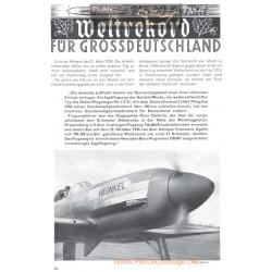 Heinkel He 100 Rekord