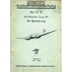 Heinkel He 111 H Motor Jumo 211