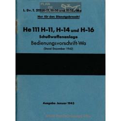 Heinkel He 111 H11 H14 Arme A Feu