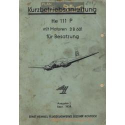 Heinkel He 111 P Motor Db 601
