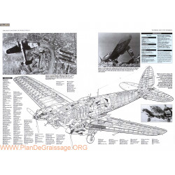 Heinkel He 111h Cut Away