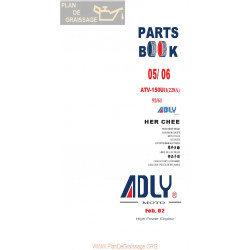 Adly 150 U Ii 228a 2005 2006 Parts List