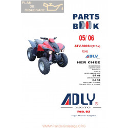 Adly 300 S Ii 227a 2005 2006 Parts List