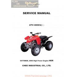 Adly 300 S U I 9261 2006 Parts List