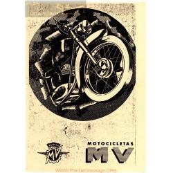 Agusta Mv 150 2 Tiempos Manual Propietario