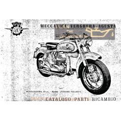Agusta Mv Cat Parti Di Ricambio Mv 125 Pullman