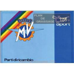Agusta Mv Cat Parti Di Ricambio Mv 125 Sport Bassa Qualita