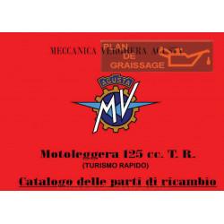 Agusta Mv Cat Parti Di Ricambio Mv 125 TR