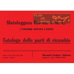 Agusta Mv Cat Parti Di Ricambio Mv 125 TRL Incompleto