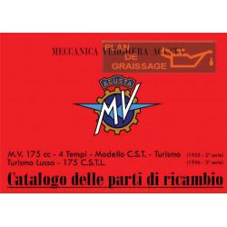 Agusta Mv Cat Parti Di Ricambio Mv 175 CSTL