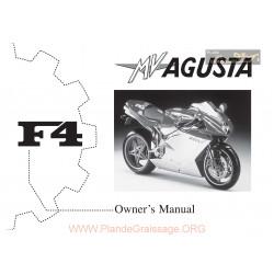 Agusta Mv F4 750 Manual De Utilizare