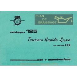 Agusta Mv Uso E Manutenzione Mv 125 TRL