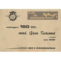 Agusta Mv Uso E Manutenzione Mv 150 Gt Rs