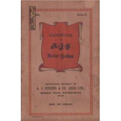 Ajs 1931 Manual De Intretinere