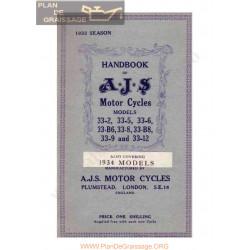 Ajs 1933 Manual De Intretinere