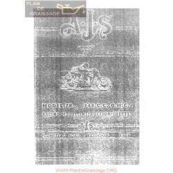 Ajs 1949 1964 7r Racing Manual De Intretinere