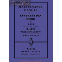 Ajs 1951 16m 16ms 16mc 16mcs 18 18s 18c 18cs Manual De Intretinere
