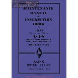 Ajs 1953 16m 16ms 16mc 16mcs 18 18s 18c 18cs Manual De Intretinere