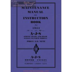 Ajs 1954 16m 16ms 16mc 16mcs 18 18s 18c 18cs Manual De Intretinere