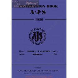 Ajs 1956 16ms 18s Manual De Intretinere
