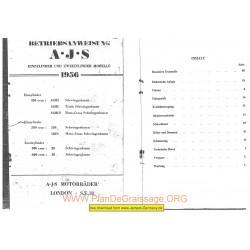 Ajs 1956 Manual De Reparatie
