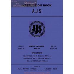 Ajs 1962 16 18 20 31 31cs 31csr Manual De Intretinere