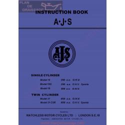 Ajs 1963 16 16s 18 31 31csr Manual De Intretinere