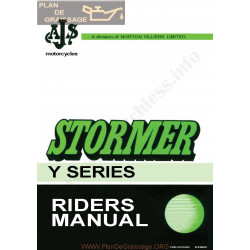 Ajs 1970 Stormer Manual De Intretinere