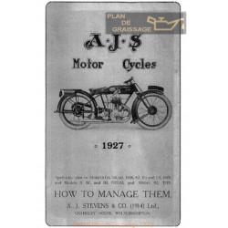 Ajs 3 49hp Ma 1927