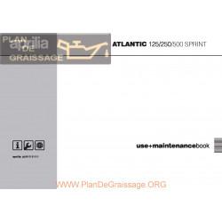 Aprilia Atlantic 125 250 500 Sprint Manual De Intretinere