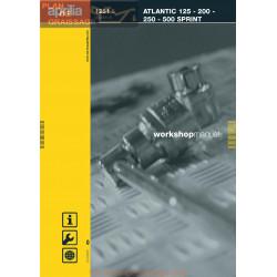 Aprilia Atlantic Sprint 125 200 250 500 2005 Manual De Reparatie