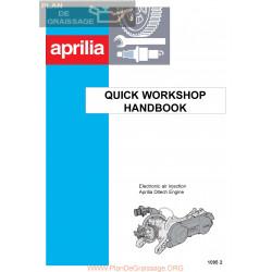 Aprilia Ditech 50 Ac 2002 Manual De Intretinere
