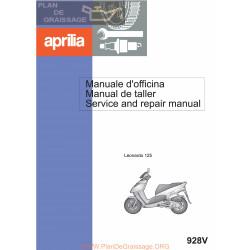 Aprilia Leonardo 125 1997 Manual De Reparatie