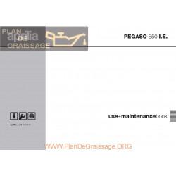 Aprilia Pegaso 650 2003 Manual De Intretinere