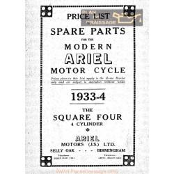 Ariel Square Four Spare 1933 1934