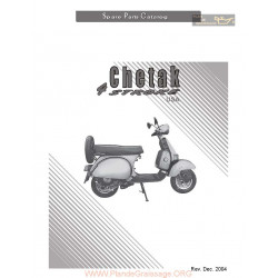Bajaj Cheetak Parts List