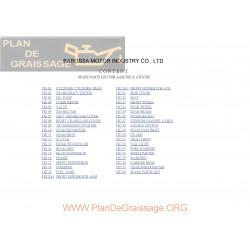 Barossa 170 Magna Parts List