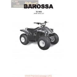 Barossa 50 Mini Parts List