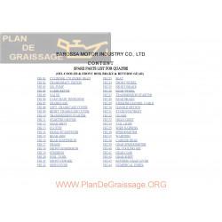 Barossa Quaterback 250 Er Parts List
