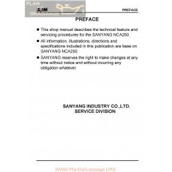 Barossa Sanyang Nca 250 Manual De Reparatie