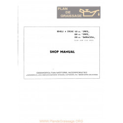 Benelli 125 200 250 Sprite Baracuda Sm
