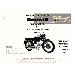 Benelli 125 250 Sprite Barracuda Cp
