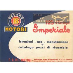 Benelli 125 Imperiale Istruzioni