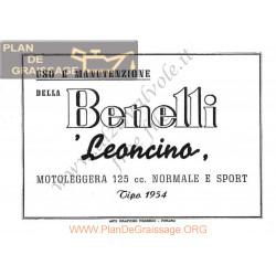 Benelli Leoncino 125cc E Mu 1954