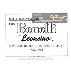 Benelli Leoncino Sport 1954