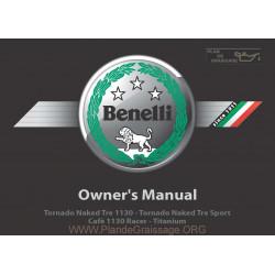 Benelli Tornado Naked Tre 1130 K Manuale De Utilizare