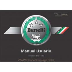 Benelli Tornado Tre 1130 K Manuale De Utilizare